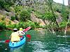 Najljepše hrvatske rijeke teku krškim područjima, što znači da obiluju sedrenim slapištima obraslim bujnom vegetacijom kojoj pogoduje bogatstvo vode i sunca. Slapovi zadržavaju između sedrenih naslaga dovoljno vode i u sušnim mjesecima za plovidbu kanuom, kupanje i ronjenje ...